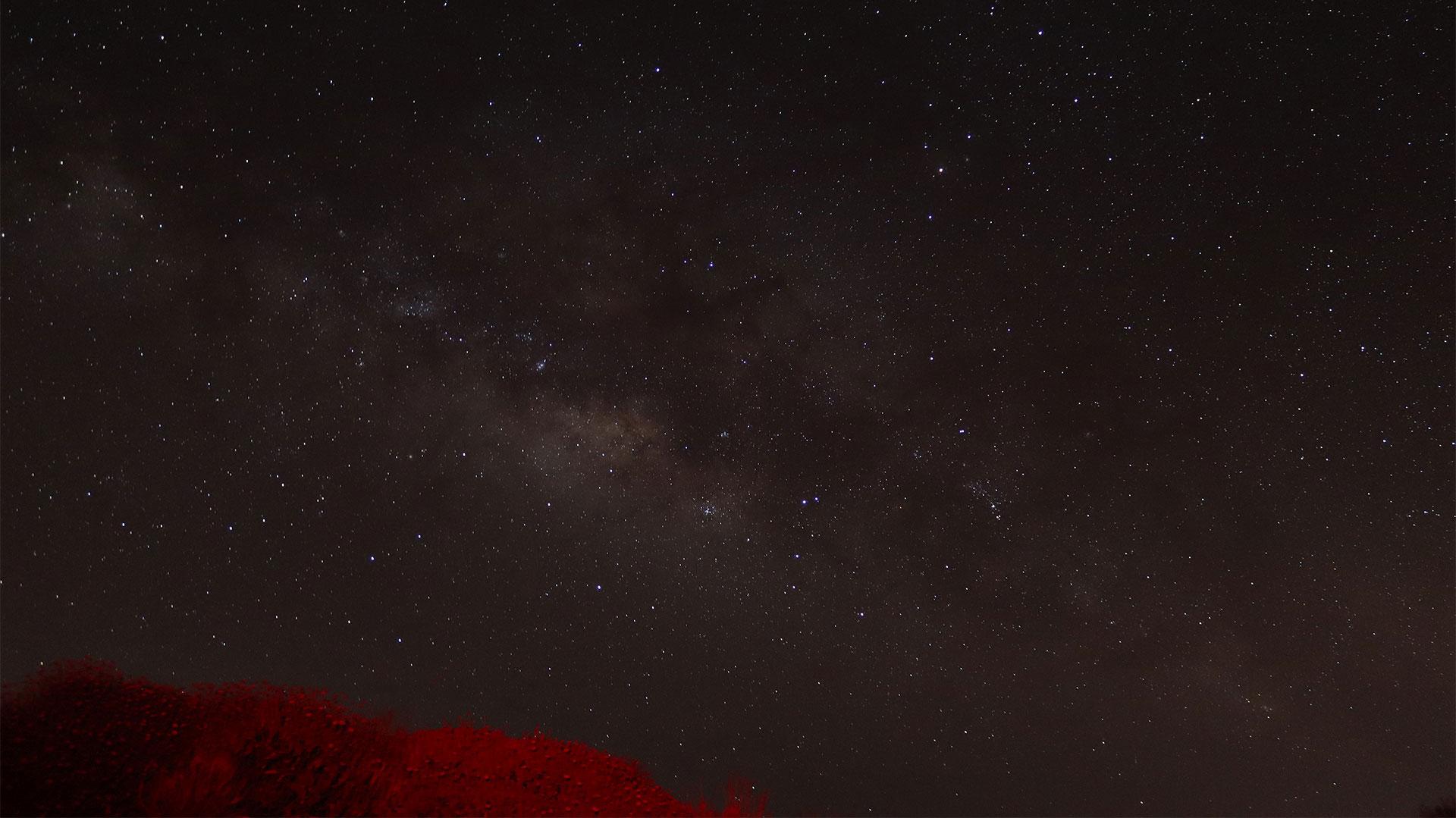 La Vía Láctea vista desde el Teide