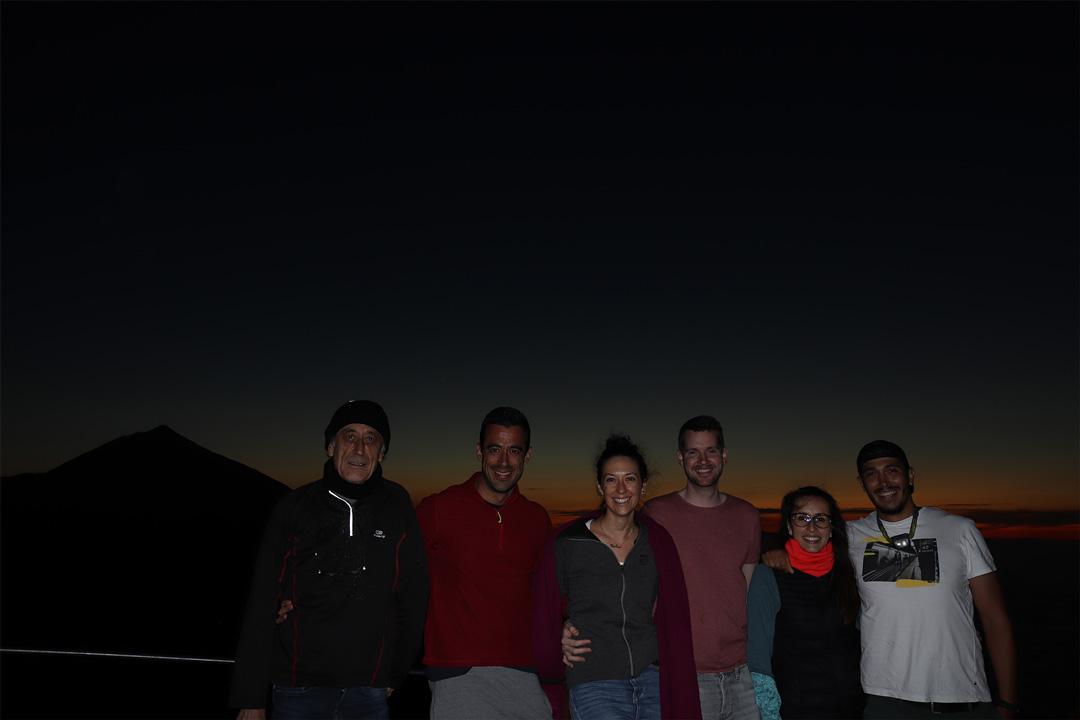 Una noche en el Teide