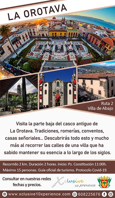 Flyer La Orotava Villa Abajo Tenerife