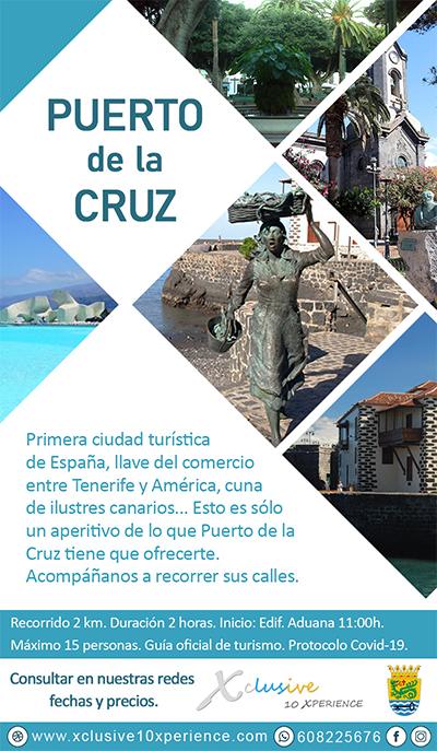 Flyer Puerto de la Cruz Tenerife