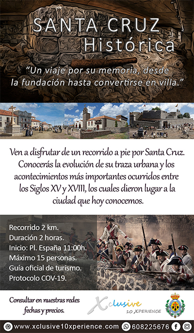 Flyer Santa Cruz Histórica-tenerife