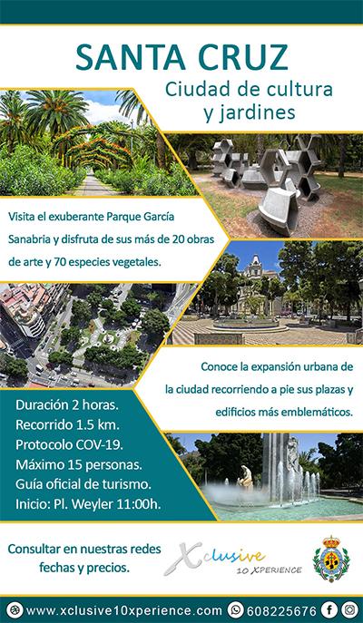 Flyer Santa Cruz Parques Tenerife