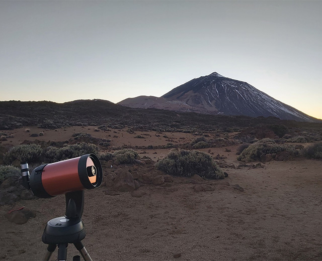 Noche para observar estrellas
