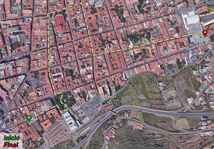 Ruta peatonal La Laguna - Villa de Abajo