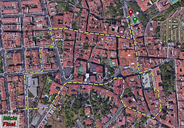 Ruta peatonal La Orotava - Villa de Abajo