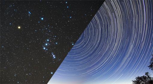 Prismáticos y un telescopio